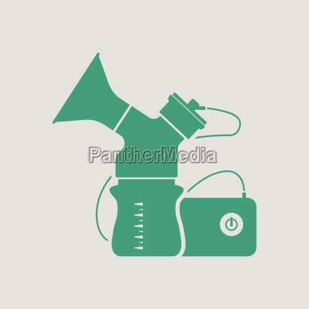 electric breast pump icon