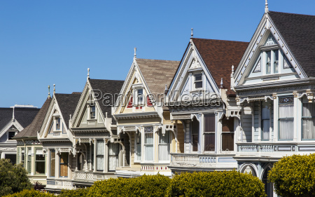 painted ladies heritage houses a tourist