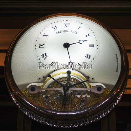 a decorative clock new york city
