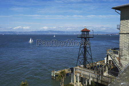 alcatraz island view of san francisco