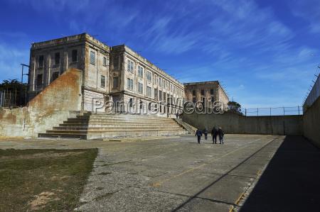 alcatraz island prisoner yard san francisco