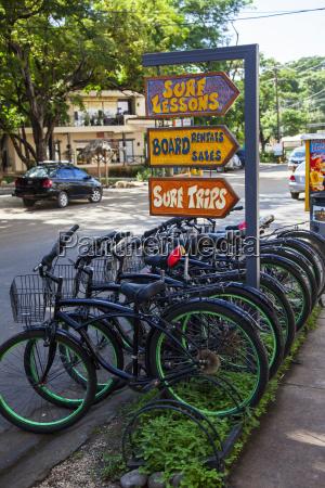 rental bicycles tamarindo costa rica