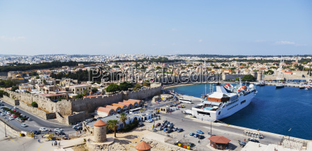 a panoramic skyline view of the