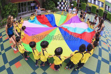 cultural visit at number 2 kindergarten