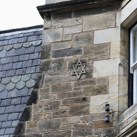 star of david on the stone