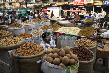 food goods on sale in the