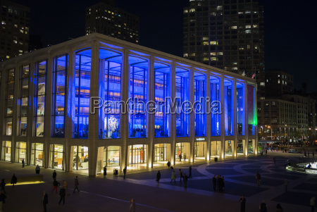 metropolitan opera house lincoln center new