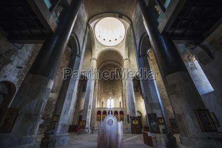 interior of bagrati cathedral kutaisi imereti