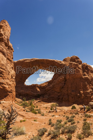 natural arches in arches national park