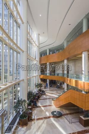 lobby of gonda building at mayo