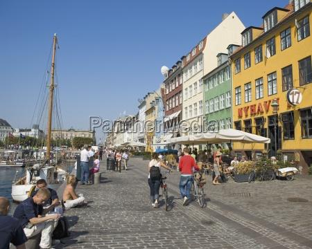busy street near port
