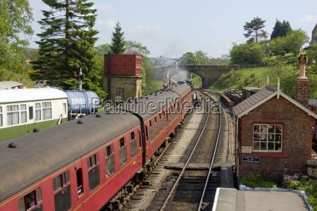 small train station goathland north yorkshire