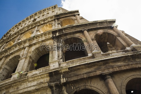 the colosseum low angle view rome