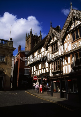 the feathers hotel ludlow shropshire england