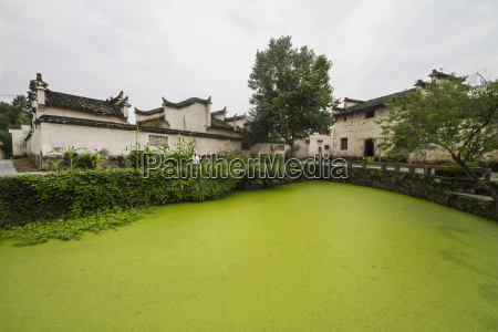 stream side villa xidi anhui china