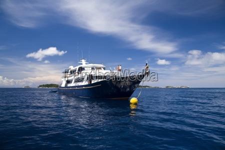 phuket thailandship offshore in the similan