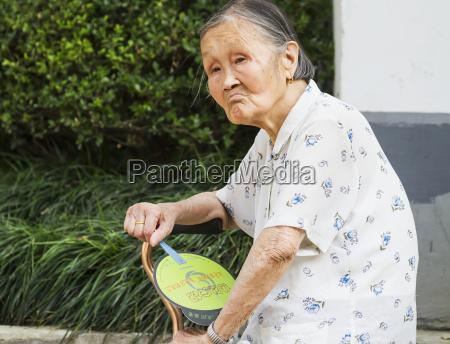 vieja mujer chinasuzhoujiangsuchina