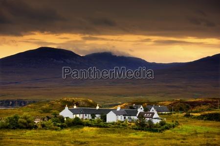 paps of jura jura scotland houses