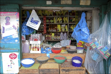 store selling food and grains stone