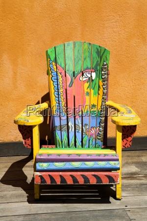 painted chair island village entertainment complex