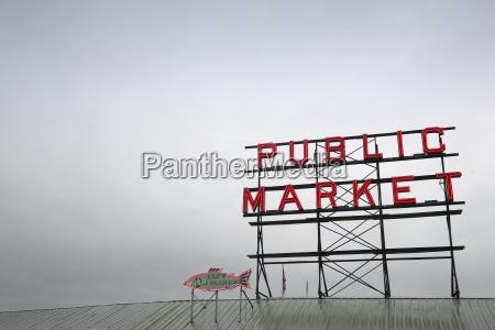 senyal del mercado publico
