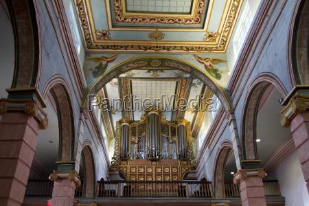 organ in iglesia de el sagrario