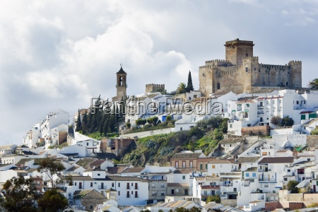scenic shot of city andalusia spain