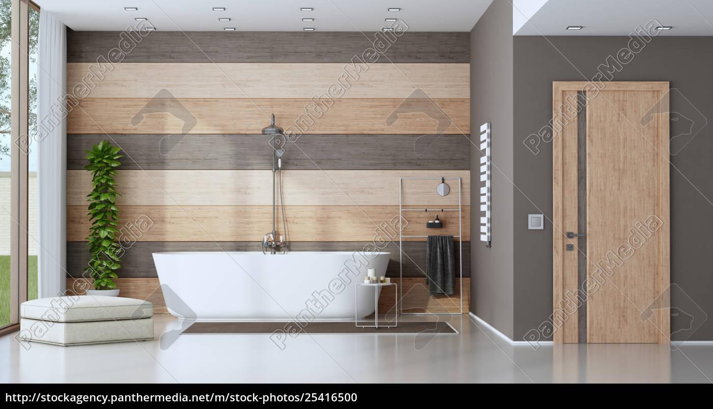 contemporary, bathroom, with, bathtub - 25416500