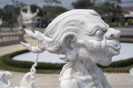statue of a goblin chiang raithailand