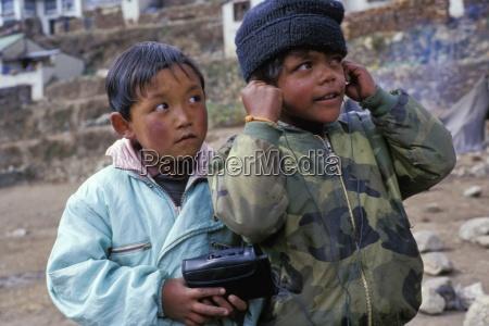 children with curiosity