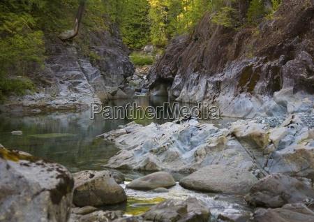 elk falls provincial park british columbia