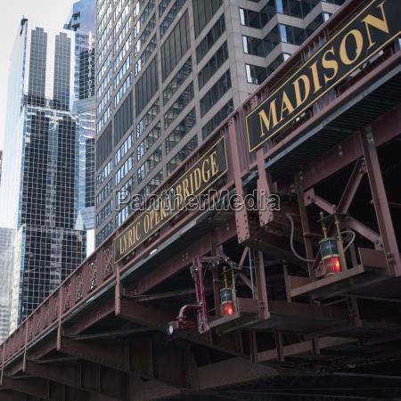 lyric opera bridge chicago illinois usa