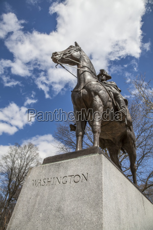 statue of general george washington morristown