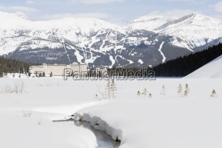banff national park alberta canada chateau