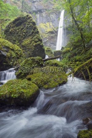 elowah falls columbia river gorge oregon