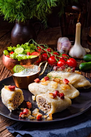 rustic, cepelinai, a, specialty, of, lithuanian, and - 25425402