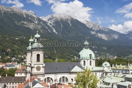 st james cathedral innsbruck tyrol tirol