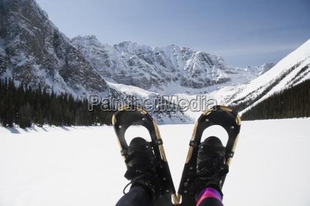banff national park alberta canada a