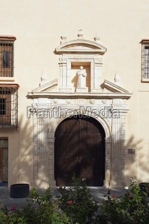ecija sevilla spain la iglesia de