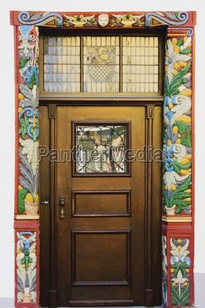 nassau rheinland pfalz germany a door
