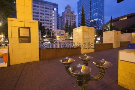 pioneer courtyard square portland oregon united