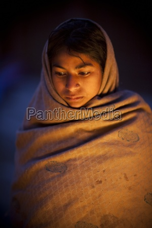 young woman outdoors in nepal