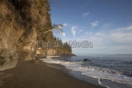 sandstone cliffs on the juan de