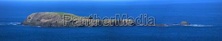 an island viewed from sumburgh head