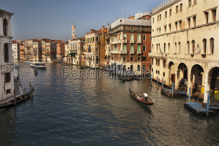 gondola and boat on the grand