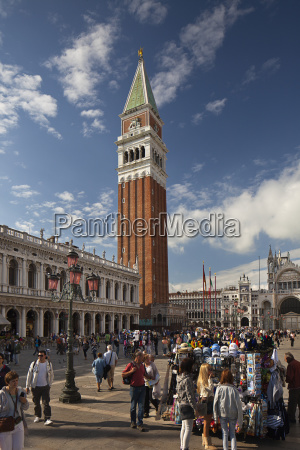 bell tower in st marks square