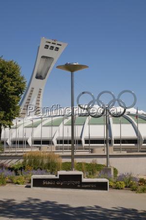 montreal olympic stadium montreal quebec canada