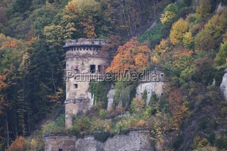 tower in koblenz rhineland palatinate germany
