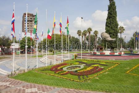 plaza de las banderas cochabamba bolivia
