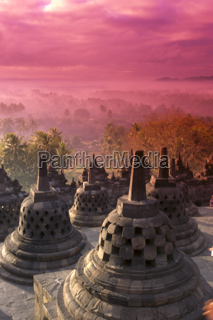 indonesia java view of city at